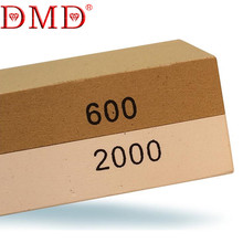600 2000 Grits DMD Double Sided Coarse and Fine Kitchen Sharpener Knife Sharpening Stone Whetstone Free Shipping