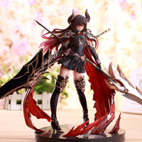 28cm Rage of Bahamut GENESIS Devil sexy girl Action figure anime game figure action toy figures PVC Model Collection Christmas