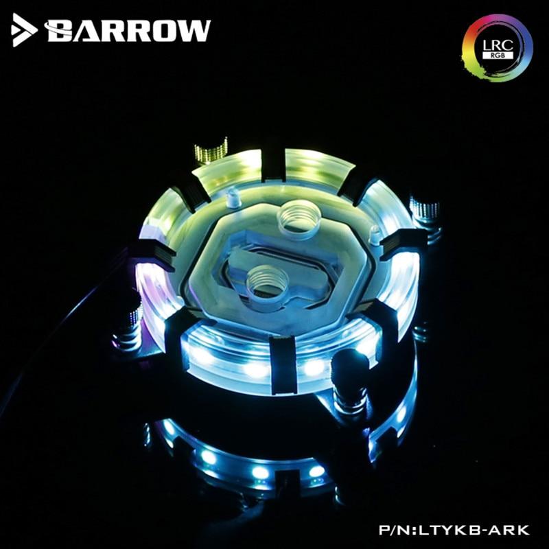 Barrow Aurora CPU Water Block For INTEL Socket LGA-115X (1150 1151 1155 1156) Energy Series Limited Edition barrow ltfhb 02 rgb cpu water cooling cpu block for intel 1150 1151 1155 1156
