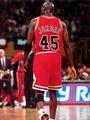 Basketball Stars Michael Jordan 45 Jersey Rare Chicago Bulls Art Huge Print Poster TXHOME D6871