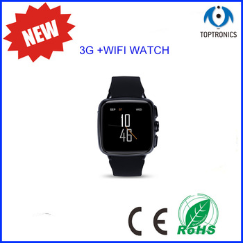 new arrival GPS WIFI Android 5.1 smart watch metel 3G smartwatch reloj inteligente clock supporting camera heart rate monitor