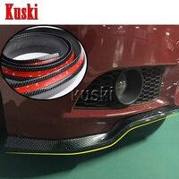 2.5m Car Front Chin Spoiler Stickers For Suzuki Swift Grand Vitara SX4 Vitara 2016 Jimmy Saab 9 3 9 5 93 Accessories