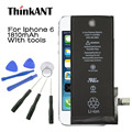 For Apple Iphone 6 Battery 1810mAh Real Capacity 100% Original For Apple IPhone6 Battery With Machine Tools Kit Mobile Batteries