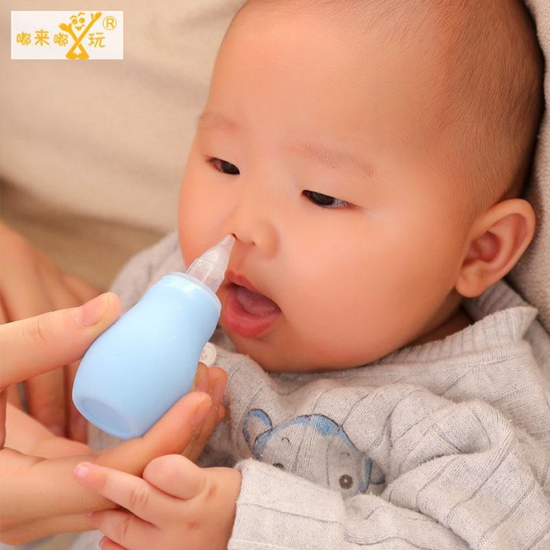 Dispositivo Nariz Do Bebê Recém-nascido do bebê Crianças Pequenas Pinças Otário Chupar O Nariz Limpo Limpar um Grupo de Segurança Tipo Airpump
