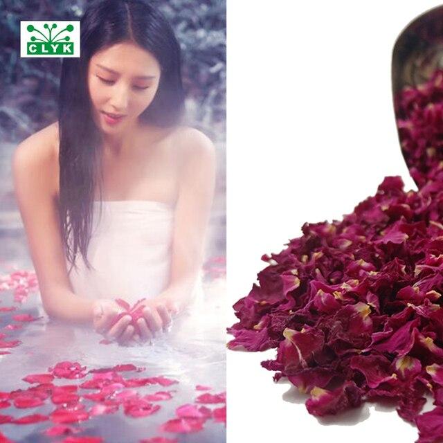 Real Pétalas de Rosa Secas Flores Secas Naturais Perfumado Banho de Chuveiro Spa Ferramenta Branqueamento Banho de Beleza Pé Cuidados Com A Pele Do Corpo 5 g/saco