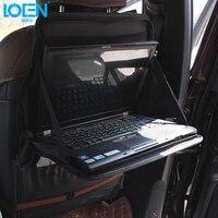 Car Seat Folding Table Seat Back Traveling Laptop Notebook Food Drink Stand Holder Desk Organizer Storage