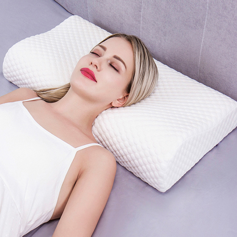 Side Sleeper Pillow For Neck Pain Support Cushion Back Pain Relief Home Travel