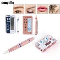 3 Types Professional Charmant Machine Eyebrow Lip Eyeliner Tattoo Digital Pen Permanent Makeup Microblading Gun Body Art Supply