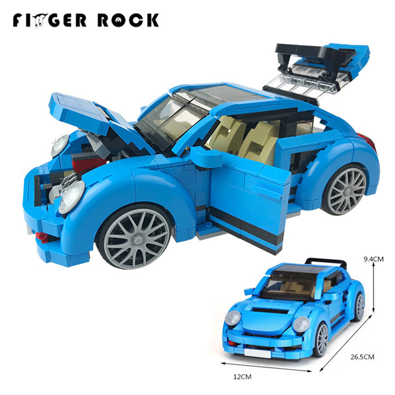 944Pcs LegoINGLYs Creator Beetle MOC Technic Series Model Building Kits Blue Racing VW Beetle Car Toys For Kids Gifts944Pcs LegoINGLYs Creator Beetle MOC Technic Series Model Building Kits Blue Racing VW Beetle Car Toys For Kids Gifts
