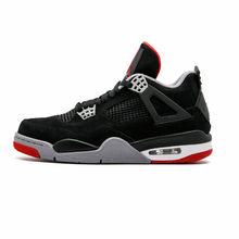 6340a7e3ff57 Jordan 4 Men Basketball Shoes Alternate Motorsport Black Cat White Cement  Kaws Grey Toro oreo Athletic Outdoor Sport Sneakers