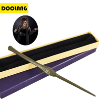 DOOLNNG Metal Core Newest Quality Deluxe Bellatrix Laguage Magic Wands Stick With Gift Box Packing Harry