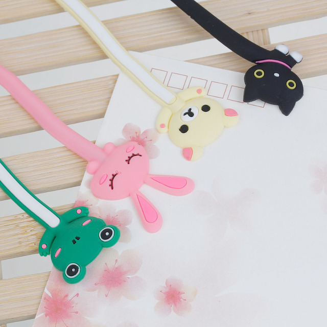 1 PC Cartoon Cable Winder Wire Cable Ties TV Computer Earphone Cable Wire Organizer Holder Cable Winding Thread Tool At Random