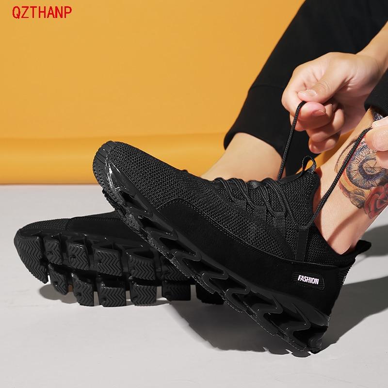 Confortáveis white Deslizamento Calçado Krasovki Respirável Masculino Moda Hombre Black Homens Sapato Homem Casual Masculinos Dos Tênis Sapatos Nova red xp6UEqww