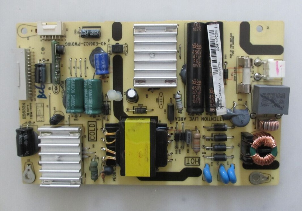 40-E061C3-PWD1XG Good Working Tested p5wd2 e board p5wd2 e tested working