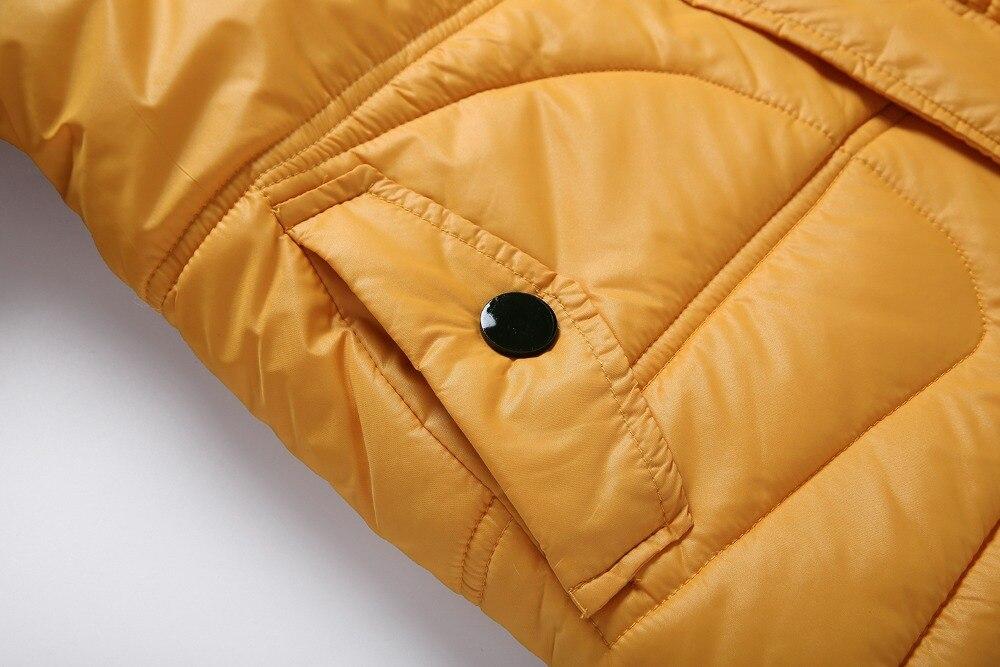 água engrossar meninos meninas algodão-acolchoado jaquetas outono e inverno