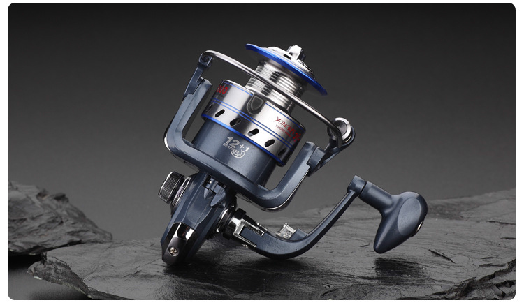 NEW HOT SALES 2017 JF ICE FLY CARP spinning fishing reel 13 Ball Bearings lightweight ALLOY HANDLE DISTANT WHEEL COPPER SHAFT