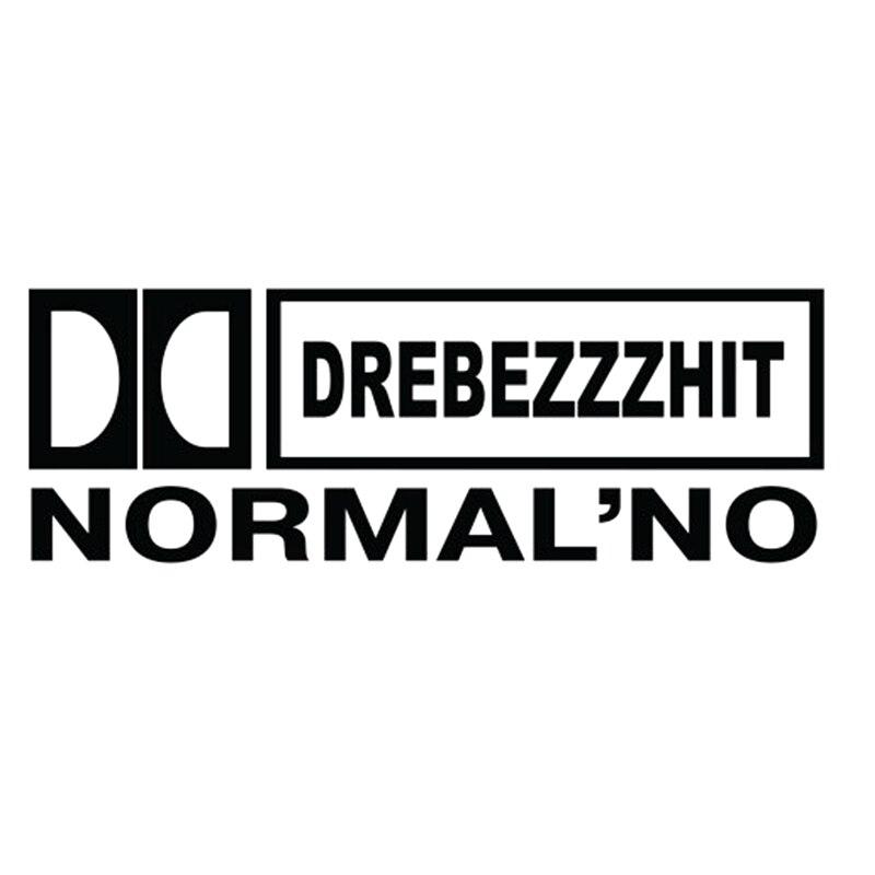 CK2278#29*10см наклейки на авто Drebezzzhit Normalno водонепроницаемые наклейки на машину наклейка для авто автонаклейка стикер этикеты винила наклейки с...