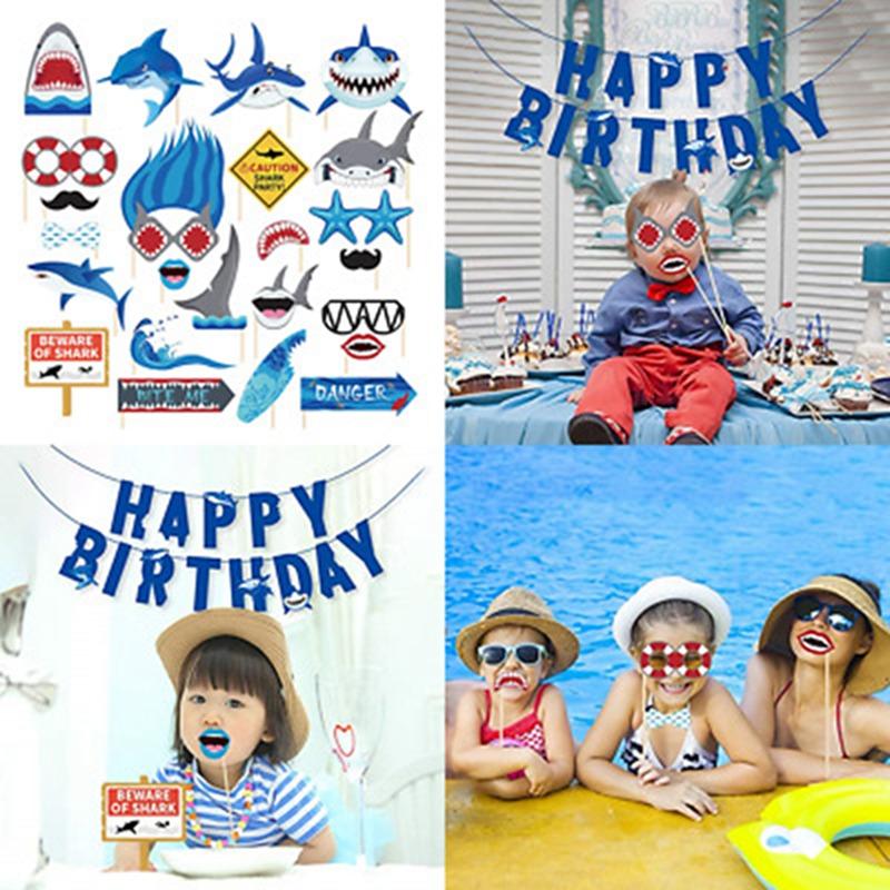 Shark-Zone-Baby-Photo-Booth-Props-25-PC