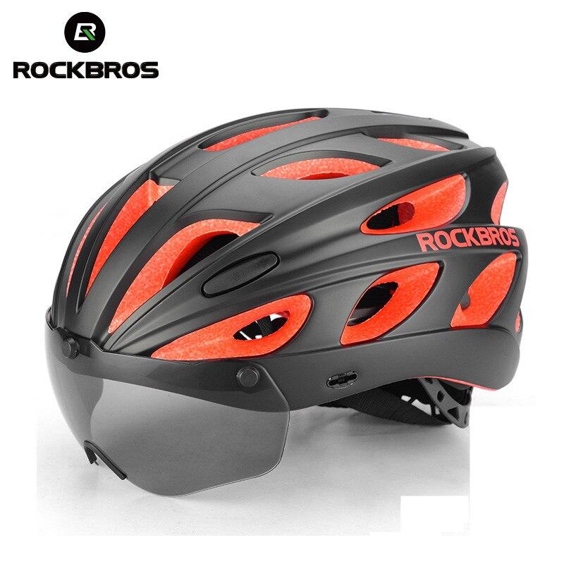 ROCKBROS Cycling Helmet Mountain Bike Accessories Ultralight Helmet MTB Head Safe Motorcycle Helmet Casco Ciclismo With