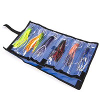 6pcs/set Acrylic Bionic Octopus Baits Artificial Soft Fishing Lure Swim baits Saltwater Boat Sea Fishing Lures Mixed Color