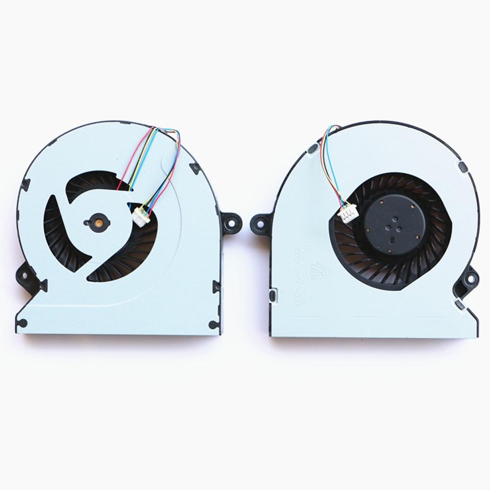 10 pcs/lot new cooler fan laptop notebook CPU radiator KSB06105HB model For ASUS G46 G46V G46VM G46VW CPU cooling laptop fan store v470 v470a v470g b470 notebook fan