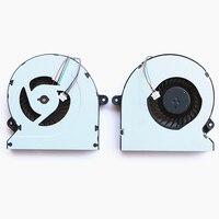 10 unids/lote nuevo ventilador enfriador portátil notebook cpu ksb06105hb modelo para asus g46 g46v g46vm g46vw radiador de refrigeración de la cpu