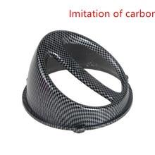 Аксессуары для мотоциклов мотоциклетные скутеры универсальные модифицированные имитация углеродного волокна вентилятор крышка для YAMAHA SUZUKI HONDA