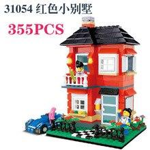 Enlighten City WANGE Villa DIY Child 31053 educational toys Villa House building Bricks Toys & Educational Compatible with legoe