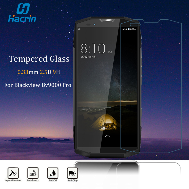Galleria fotografica Blackview BV9000 Pro Tempered Glass Blackview BV9000 Glass Blackview BV9000 Pro Screen Protector 9H 2.5D 0.33MM Glass