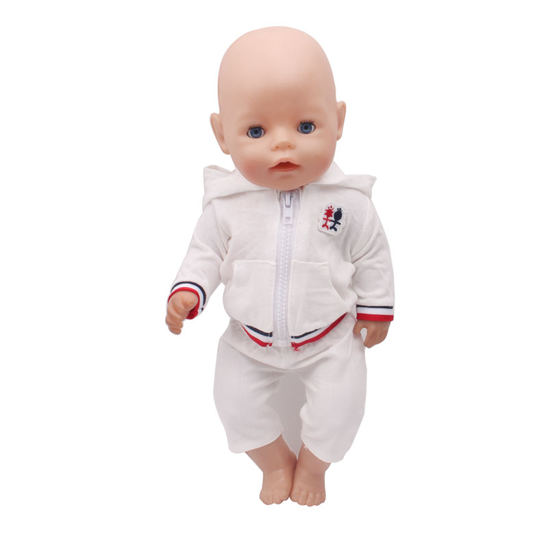 43cm Zapf Baby Born Doll Clothes All kinds of style clothes children Christmas gift free shipping the doll f315-1
