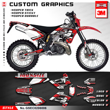Decal Stickers GRAPHICS 2006 Racing 2005 KUNGFU for GAS Gas-Ec 125/200-250/300/..