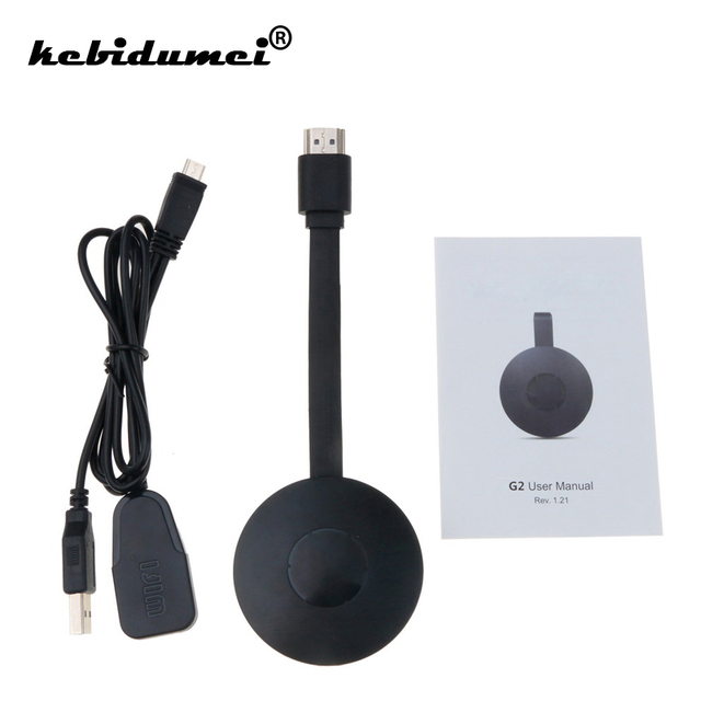 Kebidumei טלוויזיה מקל G2 עבור אנדרואיד HDMI אלחוטי WiFi תצוגת טלוויזיה Dongle מקלט 1080 P HD טלוויזיה מקל עבור מדיה