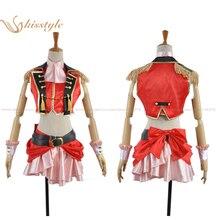 Kisstyle Fashion Love Live! Yukiho Kosaka Dancing Stars On Me Uniform Cosplay Clothing Costume,Customized Accepted