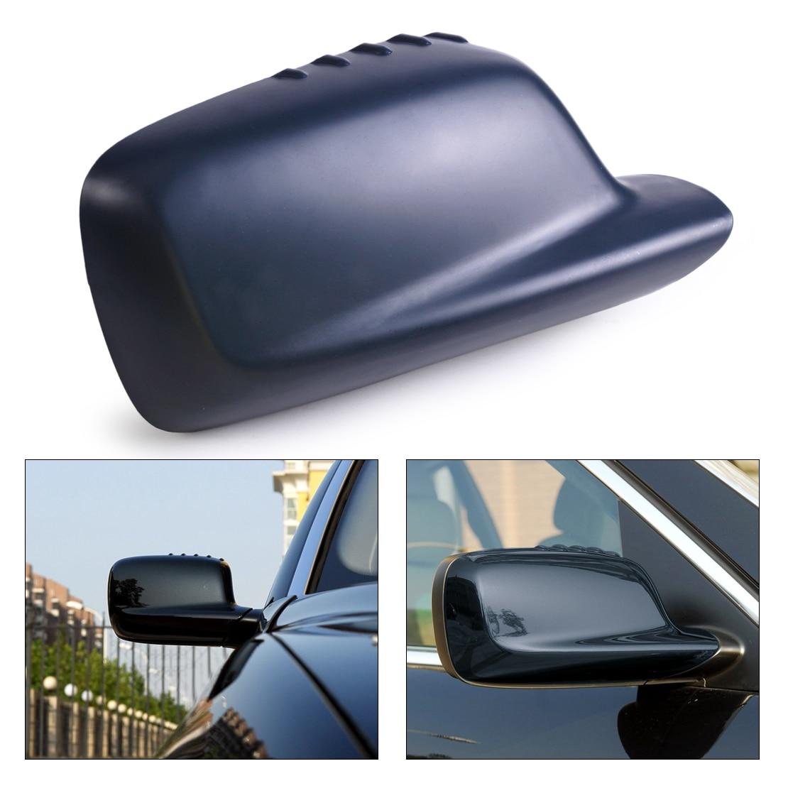 DWCX New Right Door Mirror Cover Cap Cover 51167074236 For BMW E46 E65 E66 323Ci 328Ci
