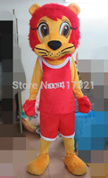 athlete lion mascot costume adult lion mascot lion costume