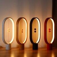 2018 Hot LED Heng Balance Lamp Night Light USB Powered Home Decor Bedroom Office Night Lamp Novelty Lights Christmas Gift Light