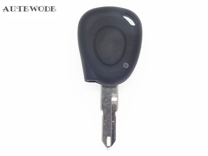 AUTEWODE 1 button Replacement Key Shell fit for RENAULT Megane Clio Scenic IR Remote Case Fob
