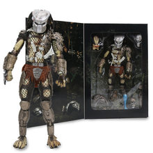 "7.8 ""NECA Predador Final Jungle Hunter Desmascarou 30th Anniversary Jungle Hunter PVC Action Figure Collectible Modelo Boneca Brinquedos(China)"