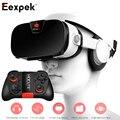 FIIT VR 3F 3D Очки для 4-6.4 дюймов Смартфон Виртуальной Реальности Гарнитура Частный Театр Игры Видео с Mocute Пульт дистанционного управления