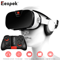 FIIT VR 3F 3D Glasses for 4-6.4 inch Smartphone Virtual Reality Headset Private Theater Game Video with Mocute Remote Controller