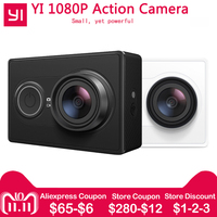[International Edition]Xiaomi YI Action Camera WiFi BT4.0 16MP 3D Noise Reduction 60FPS Ambarella A7LS Sports Mini Camera