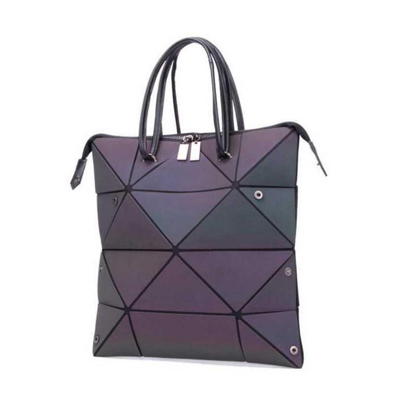 7934c3a80 2019 nuevos bolsos de moda con diamantes para mujer bolso plegable bolsos  láser para mujer bolsos