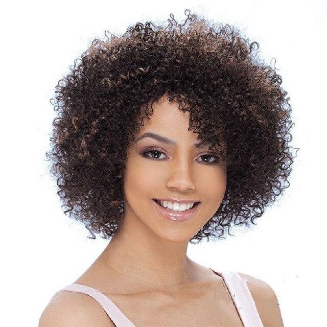 celebrity las pelucas pelucas corto femenino corte de pelo rizado afro rizado peluca sinttica pelucas with corte de pelo rizo