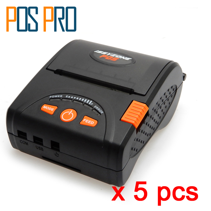 IMP001 New Arrival! Mobile Mini Portable Thermal Receipt Printer Handheld Pos Printers Bluetooth Printer for android iOS