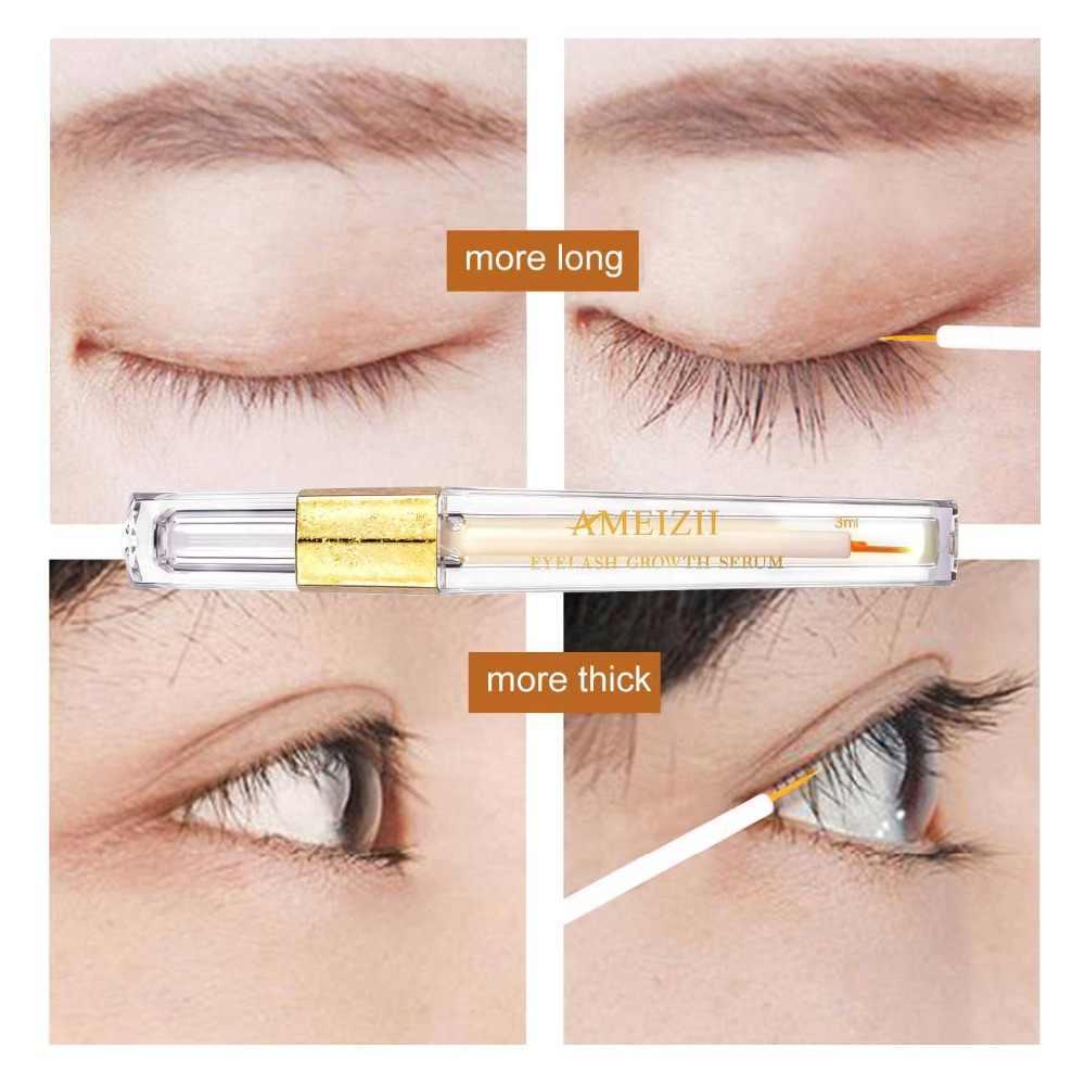 Ameizii Crescita Delle Ciglia Siero Occhi per Eye Lash Sollevare Più a Lungo Più Piena Più Spesse Ciglia E Sopracciglia Enhancer Eye Trattamento di Cura