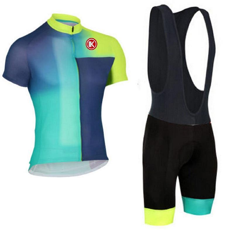 Prix pour 2016 Été Femme Manches Courtes Vélo Maillot Set Rapide-Sec Vêtements de Vélo Cycle de Vélo Vêtements de Sport Femmes de VTT Jersey