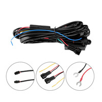 New High Quality 30w DRL Controller Auto Car LED Daytime Running Light Relay Harness Dimmer On