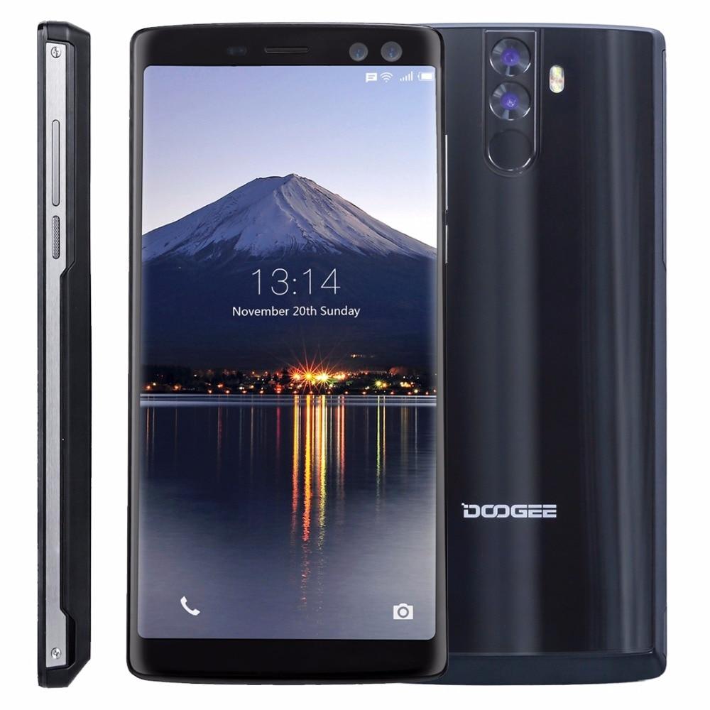 DOOGEE BL12000 6.0 18:9 4G Smartphone MTK6750T Octa Core Andorid 7.1 4GB RAM 32GB ROM Quad Cameras 16MP+13MP 16MP+8MP 12000mAh
