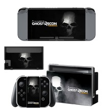 Ghost Recon Wildland Decal Nintendo Switch NS Console + Joy-Con Controller +Dock Station Protective Skin