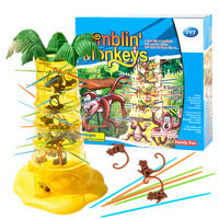 Children's Desktop Game Dumping Monkey Parent Child Interactive Intelligence Benefiting Brain using Kindergarten Toys